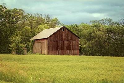 Yesterday's Barn Art Print by Kim Hojnacki