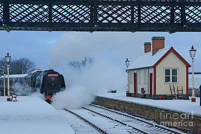 Photograph - Yesterday's Railway by David Birchall