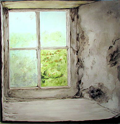 Wall Art - Painting - Yesterdays Remembered by Mary Arneson