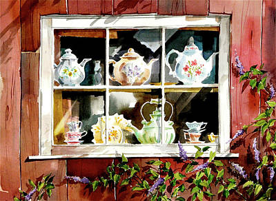 Painting - Yesterday's Tea by Art Scholz