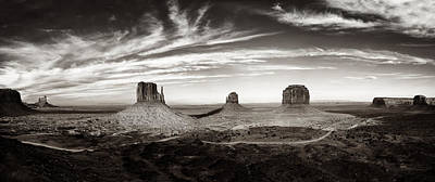 Wild West Photograph - Yesteryear Monument Valley by Andrew Soundarajan