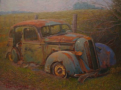 Yesteryear Art Print by Terry Perham