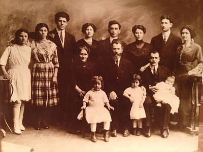 Photograph - Yesteryears-grandfather Philip And Our Family by Ericamaxine Price