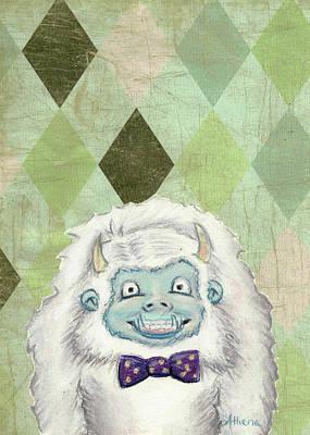 Pastel - Yeti Portrait by Athena Lutton