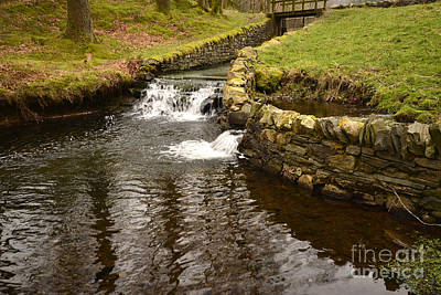 Lake Photograph - Yew Tree Tarn Overflow by Nichola Denny