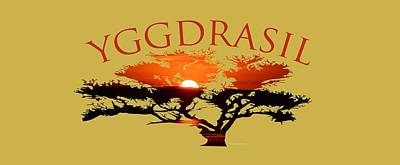 Yggdrasil- The World Tree Art Print