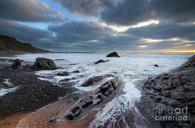 Photograph - Sandymouth Beach 8.0   by Yhun Suarez