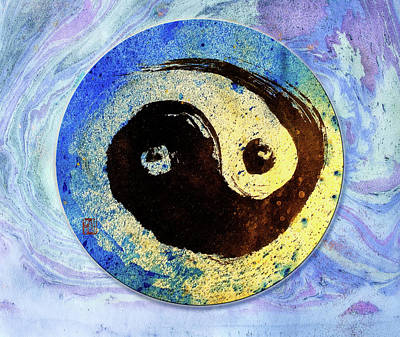 Mixed Media - Yin Yang  by Peter V Quenter