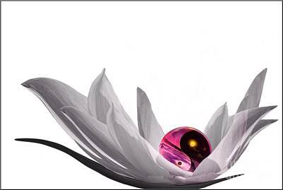 Flora Photograph - Yin Yang by Jacky Gerritsen