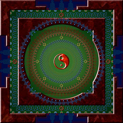 Yin Yang Print by Stephen Lucas