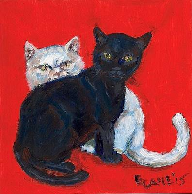 Painting - Ying And Yang by Elizabeth Lane
