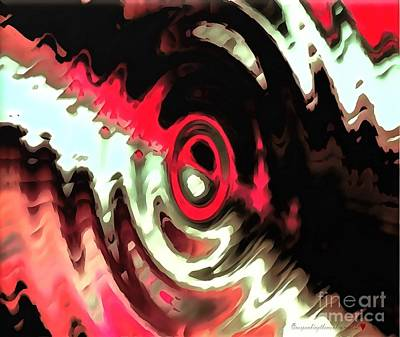 Royalty Free Images Painting - Ying Yang by Catherine Lott