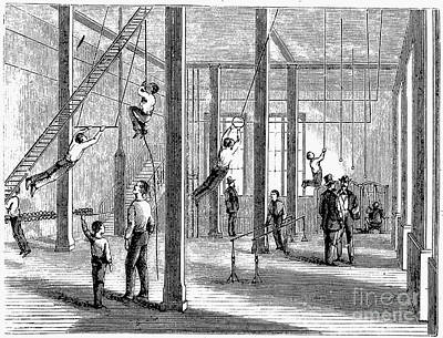 Trapeze Photograph - Y.m.c.a., 19th Century by Granger