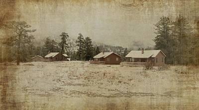 Photograph - Ymca Cabins - Estes Park by Angie Tirado