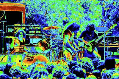 Photograph - Ynt #14 Crop 2 Enhanced In Cosmicolors #2 by Ben Upham
