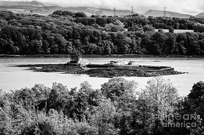Ynys Gored Goch Island In The Menai Strait North Wales Uk Art Print by Joe Fox