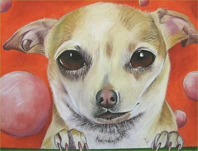 Yo Quiero Art Print by Michelle Hayden-Marsan