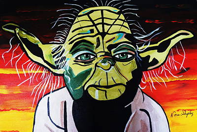 Yoda  Come Home Art Print by Nora Shepley