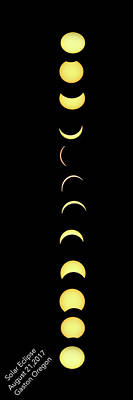 Photograph - Yoga Eclipse by Jean Noren