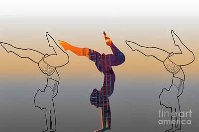 Photograph - Yoga  by Roman Gomez