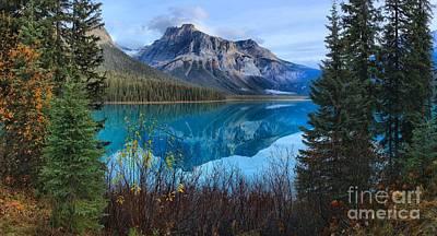 Photograph - Yoho Emerald Lake Tranquility by Adam Jewell