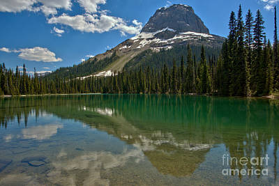 Photograph - Yoho Lake Calm Afternoon by Adam Jewell