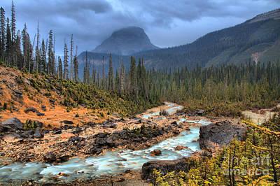 Photograph - Yoho Mountain Landscape by Adam Jewell