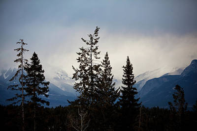 Art Print featuring the photograph Yoho Mountains British Columbia Canada by Jane Melgaard