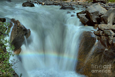Yoho River Rainbow Art Print