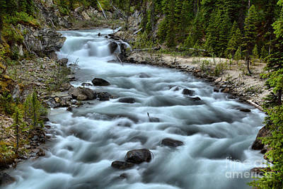 Photograph - Yoho River Rapids by Adam Jewell