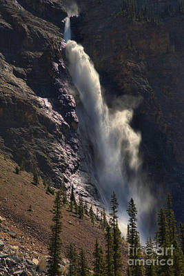 Photograph - Yoho Takakkaw Falls by Adam Jewell