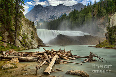 Photograph - Yoho Wapta Falls by Adam Jewell