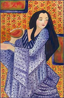 Painting - Yokiro by Leslie Marcus