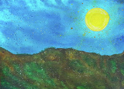 Yokun Ridge Art Print by Scott Harrington