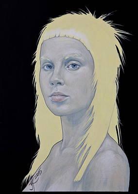 Painting - Yolandi by Jovana Kolic