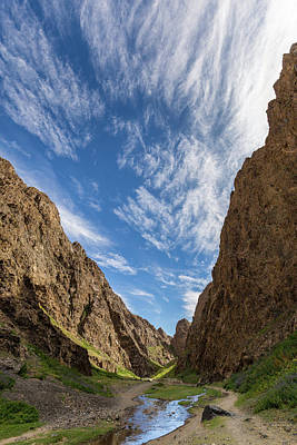 Photograph - Yoliin Am Gorge by Hitendra SINKAR