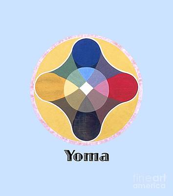 Painting - Yoma Text by Michael Bellon