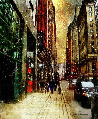 Digital Art - Yonge Street by Nicky Jameson