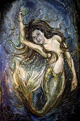 Painting - Yoonsil La Sirene Enchanteur by Lord Toph