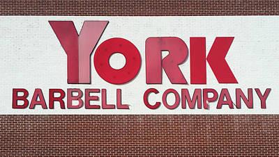 Photograph - York Barbell Company by Joseph Skompski
