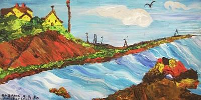 York Beach Maine Art Print