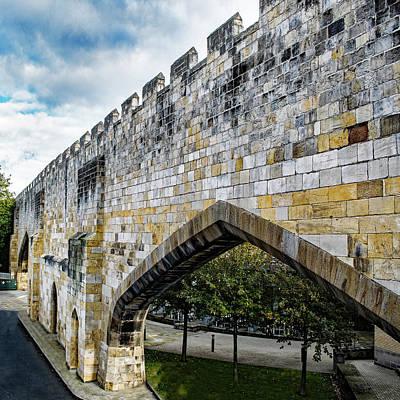 Photograph - York City Roman Walls by Robert Gipson
