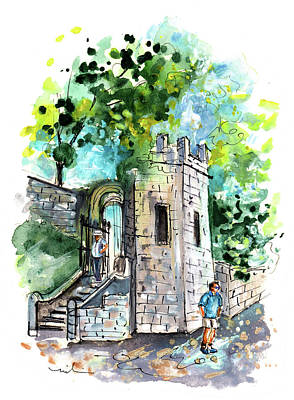 Painting - York City Walls 02 by Miki De Goodaboom