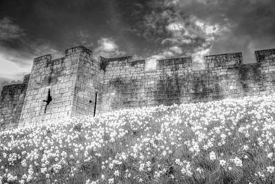 Photograph - York City Walls Infrared  by David Pyatt