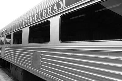 Photograph - York Durham Train by Valentino Visentini