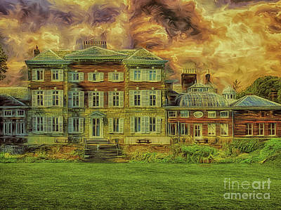 Digital Art - York House Rt by Leigh Kemp