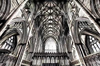 Photograph - York Minster Cathedral Art by David Pyatt
