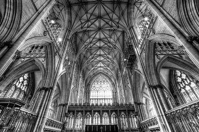 Photograph - York Minster Cathedral by David Pyatt