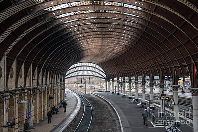 Photograph - York Station 1 by David  Hollingworth