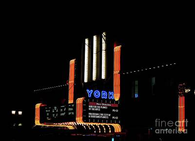 Photograph - York Theater by David Bearden